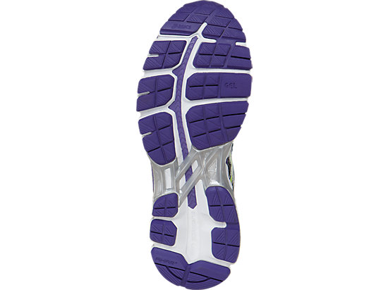 GEL-Kayano 21 (D) Charcoal/Sharp Green/Purple 19