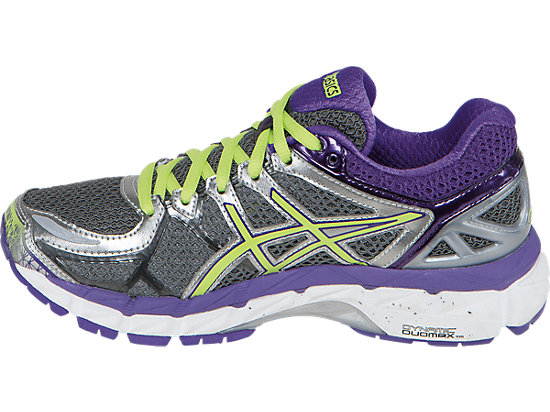 GEL-Kayano 21 (D) Charcoal/Sharp Green/Purple 15