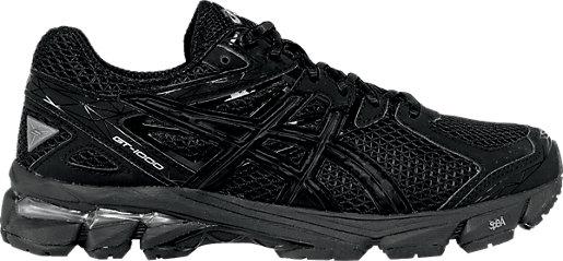 Asics Women Gt-1000 3 Onyx/Black/Lightning Running Shoes
