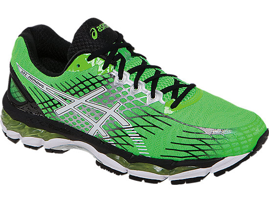 GEL-Nimbus 17 Flash Green/White/Black 7
