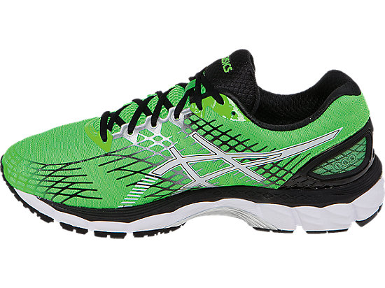 GEL-Nimbus 17 Flash Green/White/Black 15