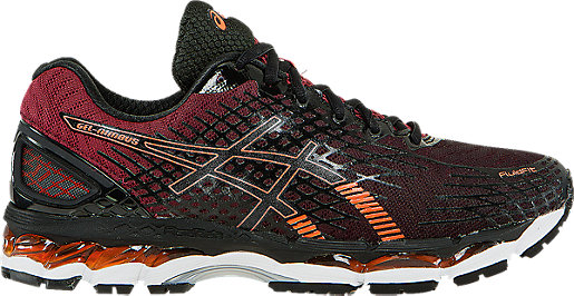 GEL-Nimbus 17 Black/Hot Orange/Deep Ruby 3 RT