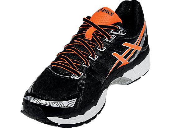 GEL-Evate 3 Black/Hot Orange/Silver 11