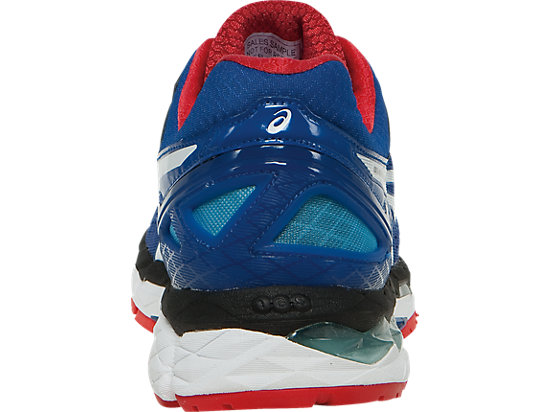 GEL-Kayano 22 Blue/White/Fiery Red 27