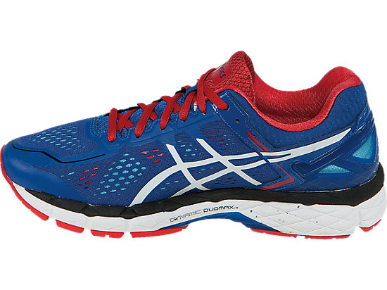 GEL-Kayano 22 Blue/White/Fiery Red 15