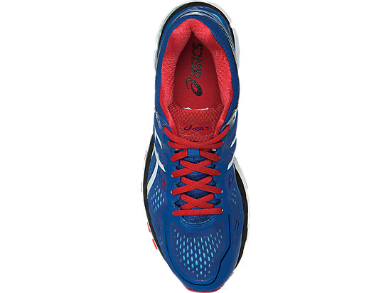 GEL-Kayano 22 Blue/White/Fiery Red 23