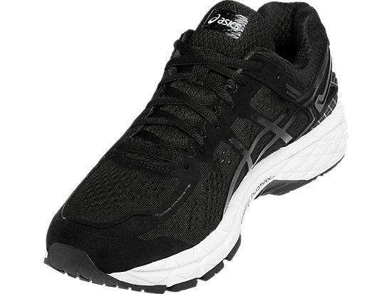 GEL-Kayano 22 Black/Onyx/Silver 11