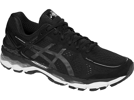 GEL-Kayano 22 Black/Onyx/Silver 7