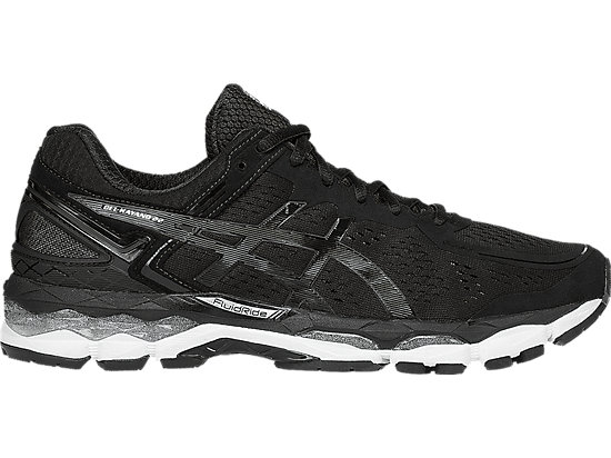 GEL-Kayano 22 Black/Onyx/Silver 3