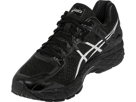 GEL-Kayano 22 Onyx/Silver/Charcoal 11