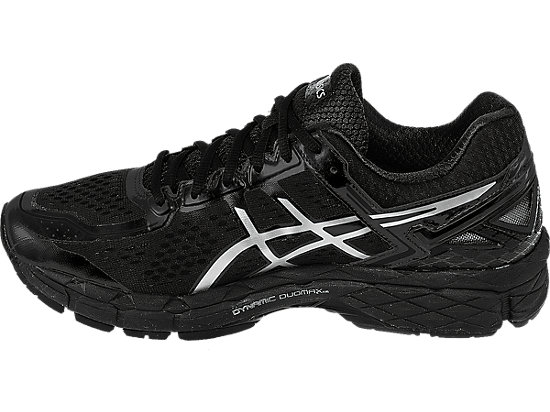GEL-Kayano 22 Onyx/Silver/Charcoal 15