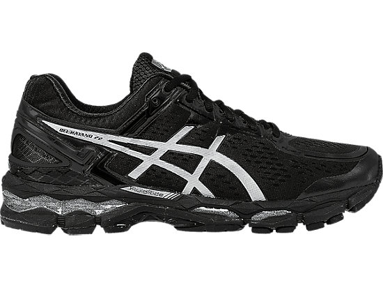 GEL-Kayano 22 Onyx/Silver/Charcoal 3