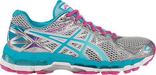 Asics Running shoes Womens Pink Ice Blue Gel surveyor 3 Lightning Hot