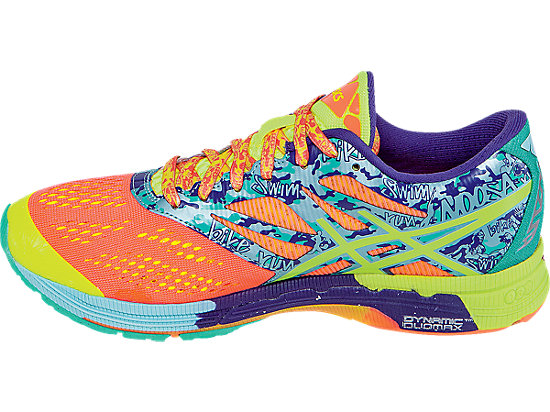 GEL-Noosa Tri 10 Flash Coral/Flash Yellow/Ice Blue 15