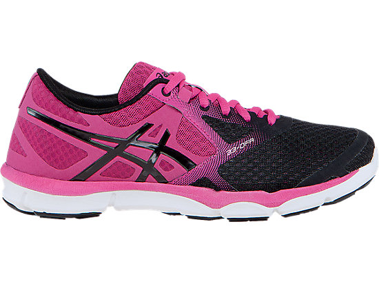 best service 8b66d db5fa 33-DFA   Women   Onyx Hot Pink Black   ASICS US