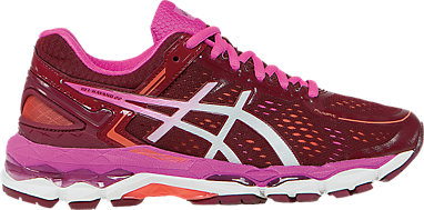 GEL-Kayano 22 Deep Ruby White Pink Glow 3 RT b95ac92e7710