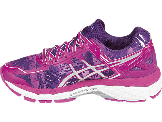 GEL-Kayano 22 Purple/Silver/Pink Glow 15