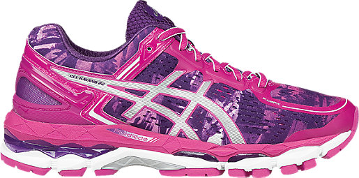 GEL-Kayano 22 Purple/Silver/Pink Glow 3 RT