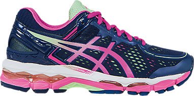 meet 56fb7 96ee6 GEL-Kayano 22 (D) Indigo Blue Pink Glow Pistachio 3 RT