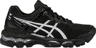 new arrival 275f3 2837e GEL-Kayano 22 (D) Onyx Silver Charcoal 3 RT