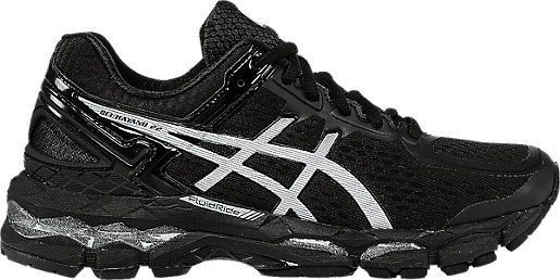 GEL-Kayano 22 (D) Onyx/Silver/Charcoal 3 RT
