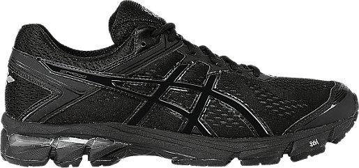 Asics Running Shoes Black Black Gt 1000 4 Onyx Mens