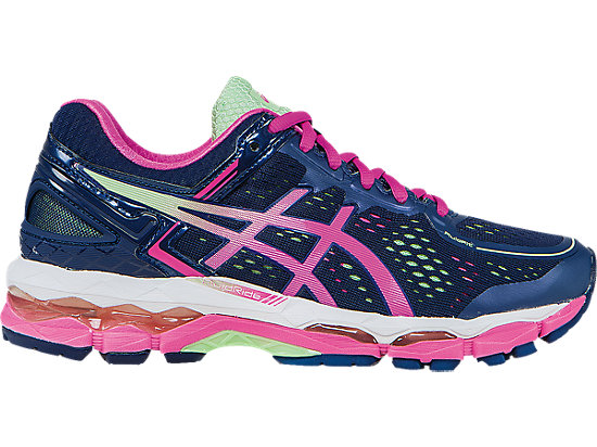 asics gel kayano bleu rose