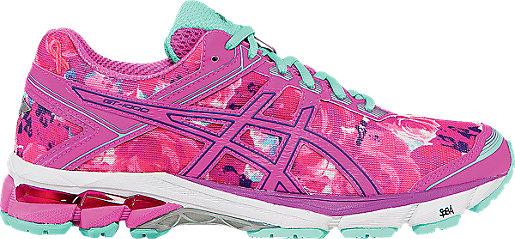Asics Gt 1000 4 Pr Pink Glow/Hot Pink/Pink Ribbon Womens Shoes