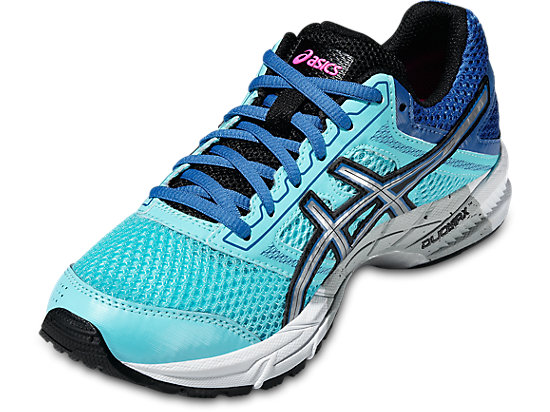 GEL-TROUNCE 3 TURQUOISE/SILVER/PINK GLOW 7