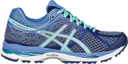 Asics Lady Gel-Cumulus 17 Sport Shoes Color: Blue