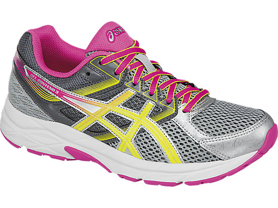GEL-Contend 3 Steel Grey/Safety Yellow/Hot Pink 7
