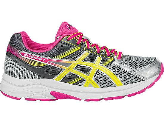 GEL-Contend 3 Steel Grey/Safety Yellow/Hot Pink 3