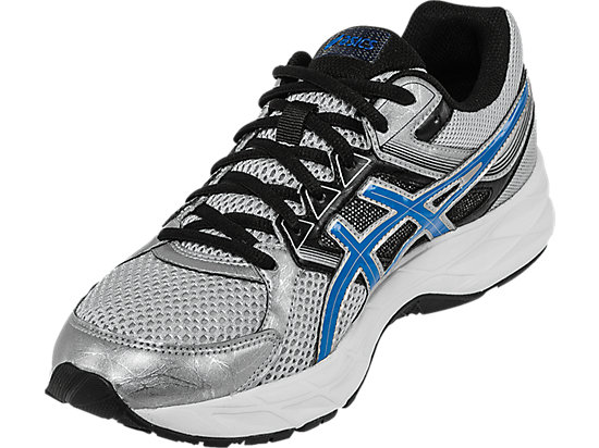 GEL-Contend 3 (4E) Silver/Electric Blue/Black 11