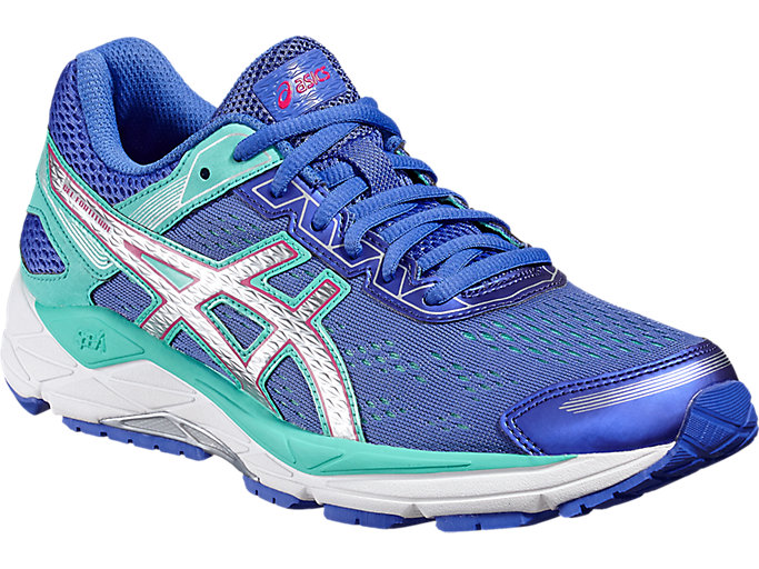 Front Right view of GEL-FORTITUDE 7, Primrose Purple/Silver/Sport Pink