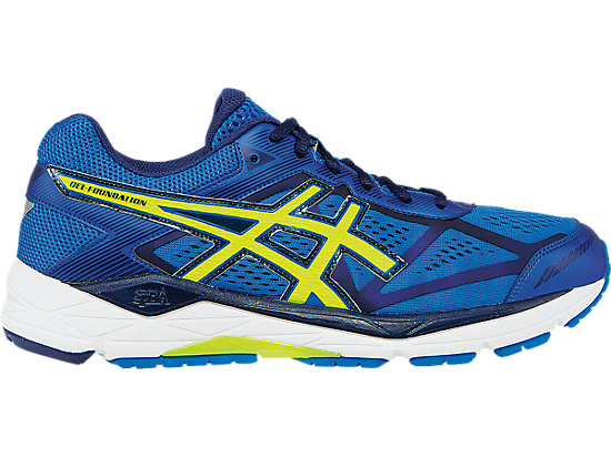 ASICS GEL Foundation 12 Men's Electric Blue/Flash Yellow