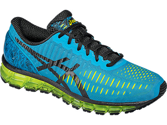 GEL-Quantum 360 Turquoise/Black/Flash Yellow 7