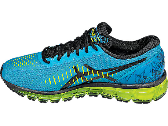 GEL-Quantum 360 Turquoise/Black/Flash Yellow 15