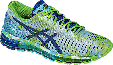 new concept df237 49671 GEL-Quantum 360 WHITE ASICS BLUE JASMIN GREEN 3 FR