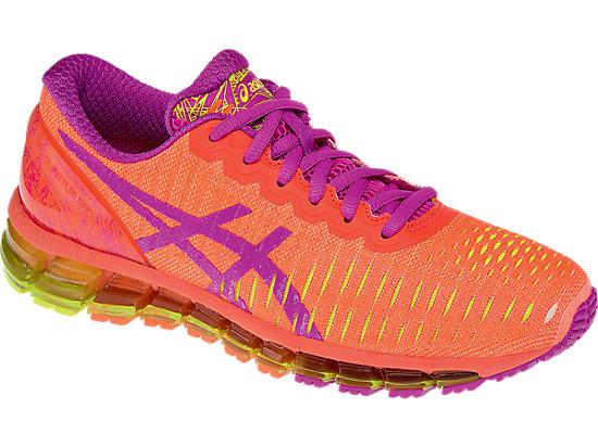 GEL-Quantum 360 Flash Coral/Pink Glow/Flash Yellow 7