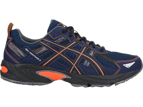 GEL-Venture 5 Indigo Blue/Hot Orange/Black 3