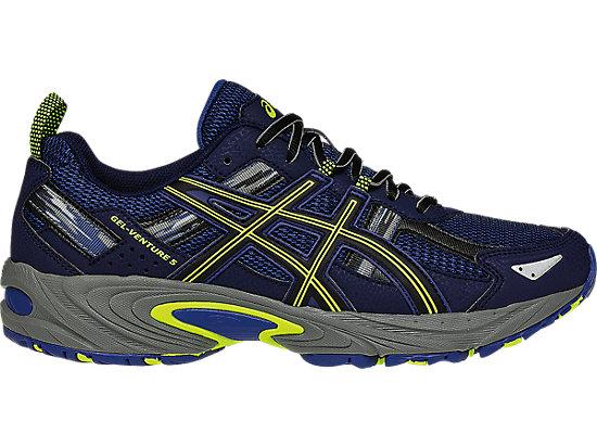 Discount Sale Asics Gel Venture 5 Trail Running Shoes Mens Indigo Blue/Black/Yellow Online Store