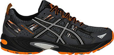 0042ca58e60 GEL-VENTURE 5 | Men | Carbon/Black/Hot Orange | ASICS US
