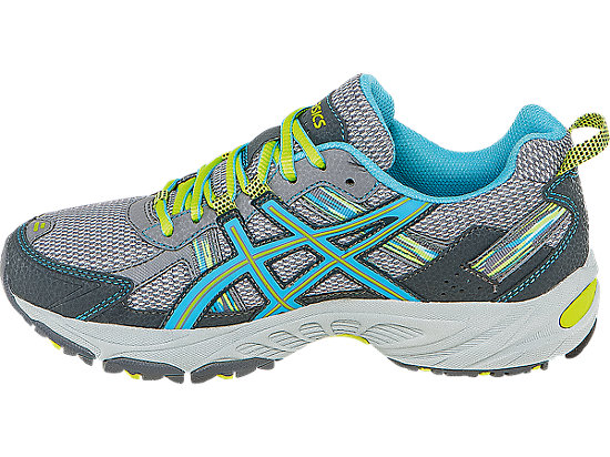 GEL-Venture 5 Silver Grey/Turquoise/Lime Punch 15