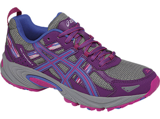 GEL-Venture 5 Phlox/Sport Pink/Aluminum 7