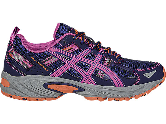 the best attitude f2b41 cc340 GEL-Venture 5   Women   Indigo Blue Pink Glow Living Coral   ASICS US