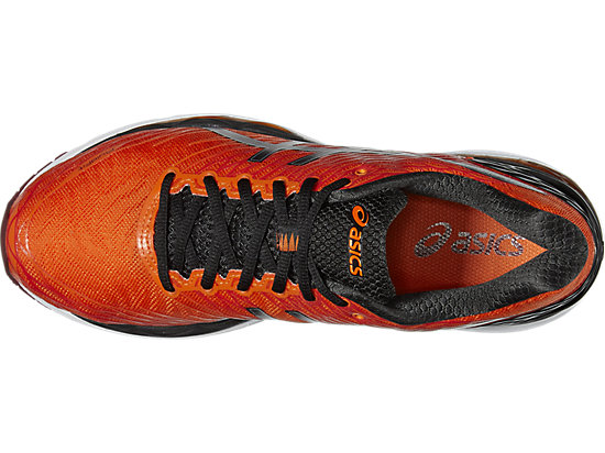 GEL-NIMBUS 18 FLAME ORANGE/BLACK/SILVER 19
