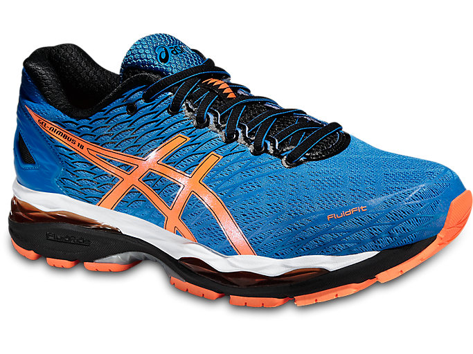 GEL NIMBUS 18 | Men | ELECTRIC BLUEHOT ORANGEBLACK | Men's