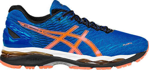asics blue and orange