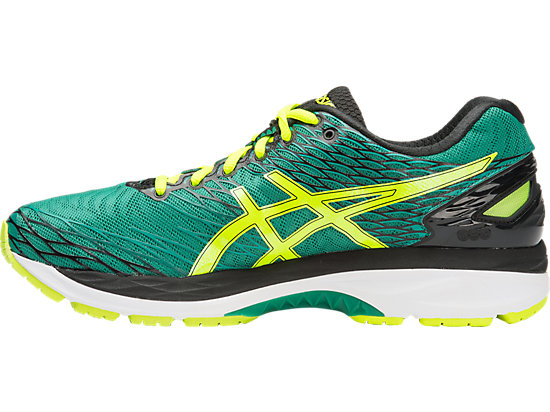 GEL-Nimbus 18 Pine/Flash Yellow/Black 11