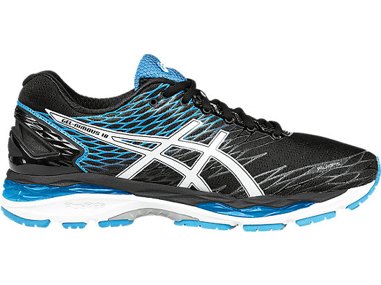 GEL-Nimbus 18 Black/White/Island Blue 3